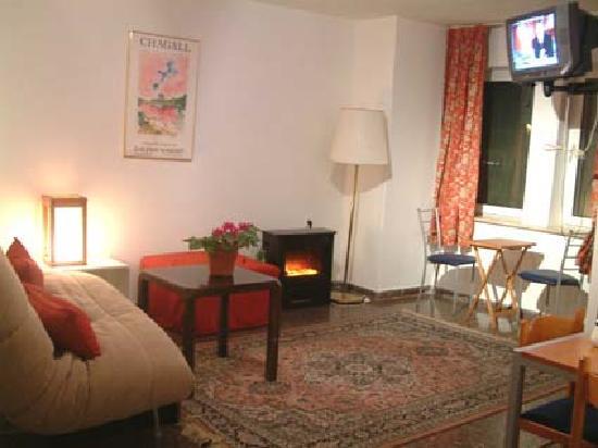 Avissar House: tThe sultan vine living room