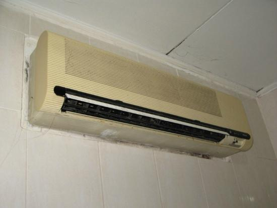Kristina Hotel: the air conditioner
