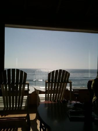 Laguna Riviera Beach Resort : beach bungalow views