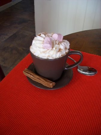 Sipping Happily: Small Luxury Hot Chocolate...