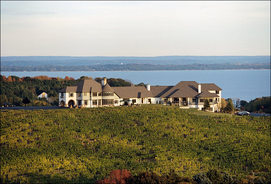 Traverse City, MI: Chateau Chantal Winery, Inn & Tasting Room