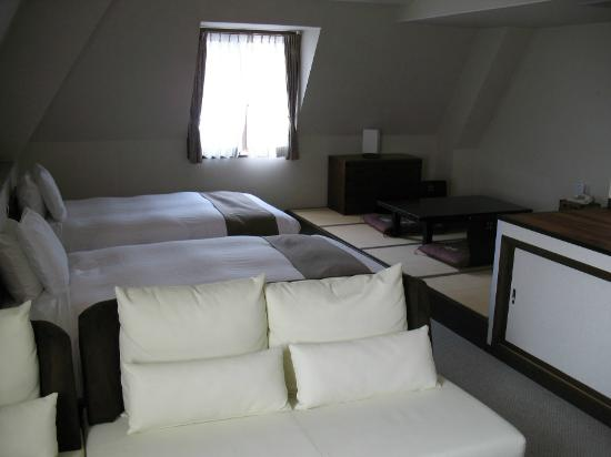 Hakuba Springs Hotel: The Room
