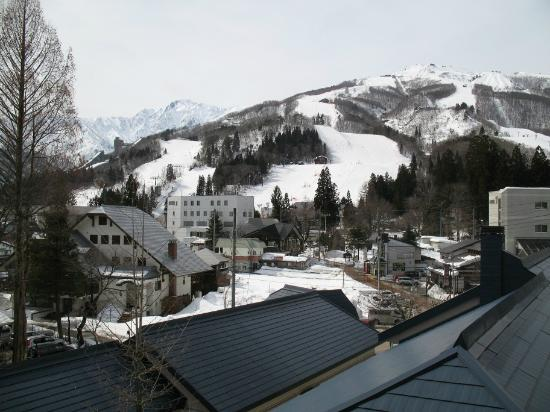Hakuba Springs Hotel: View from the room.