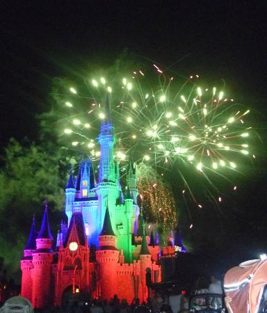 Four Points by Sheraton Orlando Studio City Hotel: Magic Kingdom Fireworks