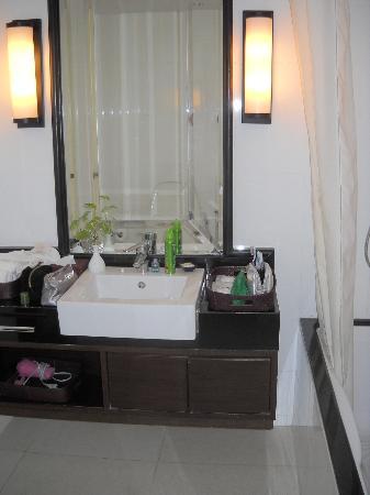 Saladaeng Colonnade: Bagno appartamento per 4 persone