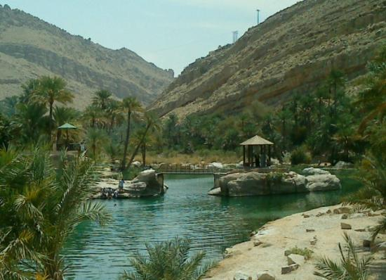 Ash-Sharqiyah Governorate, Omán: Wadi Bani Khalid