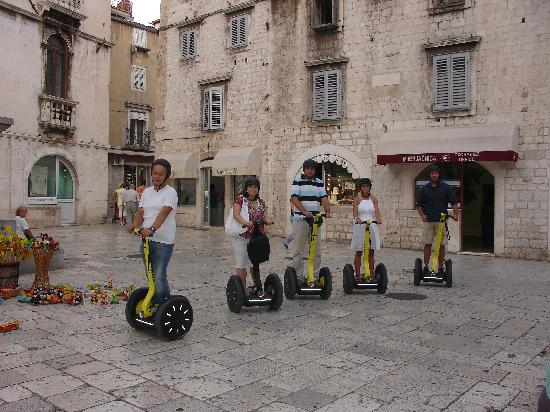 Segway Tour Split: first ride