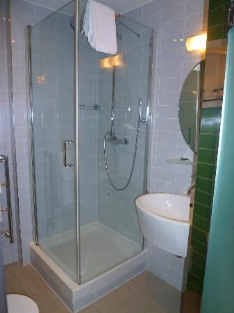 The House Hotel: walk in shower