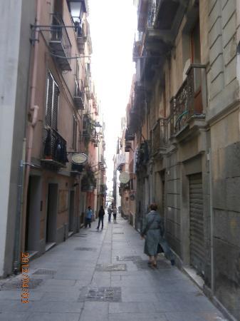 Sardegna Hotel: Ruelle dans le centre-ville