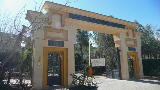 Salobre, Spagna: Esta es la entrada al Balneario