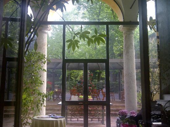 Villa Roncalli : veranda