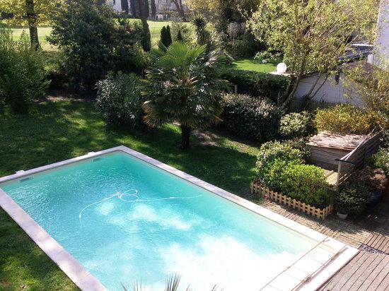Cocoloba : piscine vue du balcon