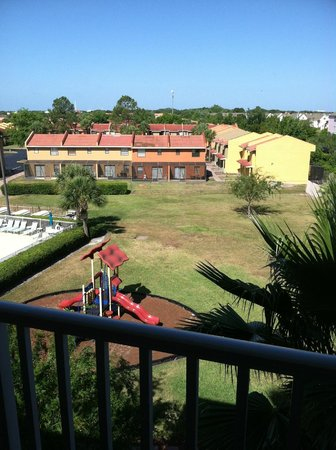 Vacation Villas at Fantasy World II: shot from balcony