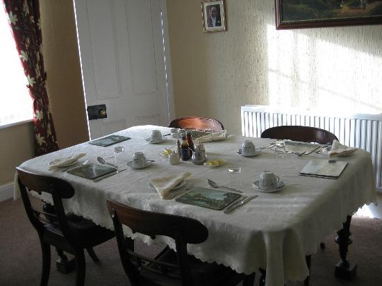 Hardwick Farm Bed & Breakfast: Breakfast Room