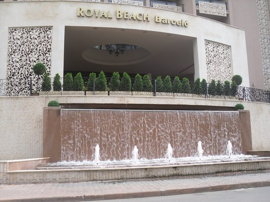 Barcelo Royal Beach: Front view