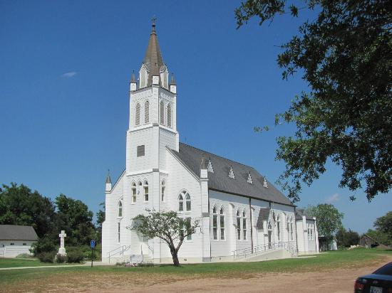 Schulenburg, TX : Church in Ammannsville