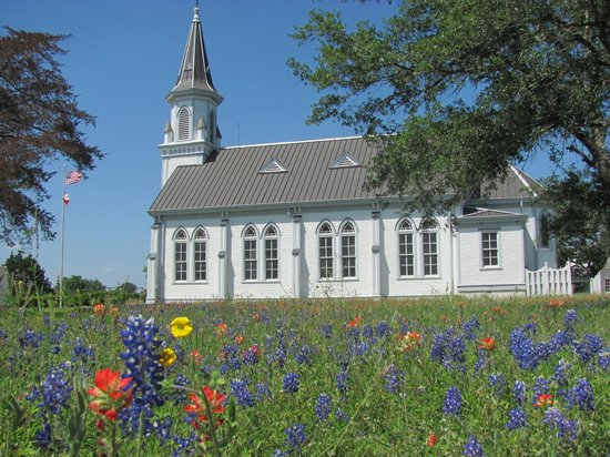 Schulenburg, TX : Dubina church