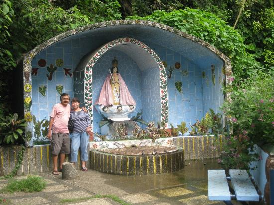 Antipolo City, Filippinerne: Meditation area