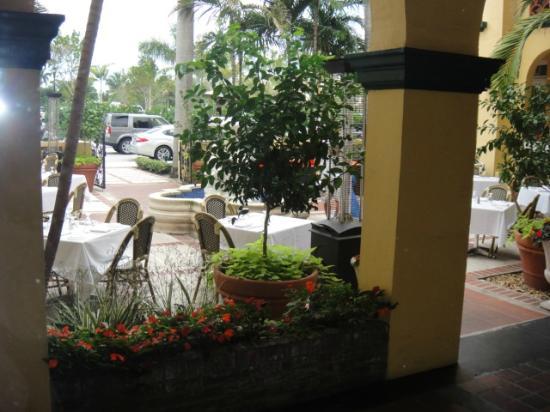 Bradley Park Hotel: Courtyard