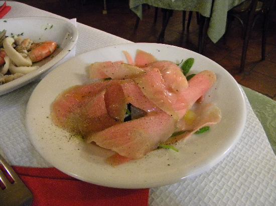 Osteria Dei Cansacchi : Salmone congelato da stemprarsi!!