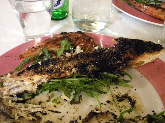 Osteria Dei Cansacchi : Spigola bruciata!!