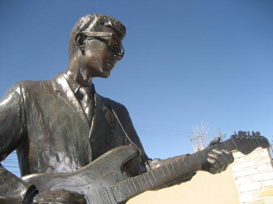 The Buddy Holly Center: Buddy Holly Statue