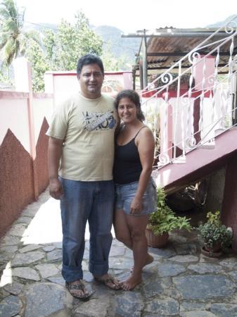 Casa Particular Ridel y Claribel: Ridel et Claribel, un couple très sympathique
