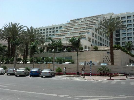 Isrotel Dead Sea Hotel & Spa: Vista del frente del hotel