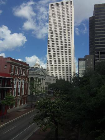 The Lafayette Hotel: View from 308