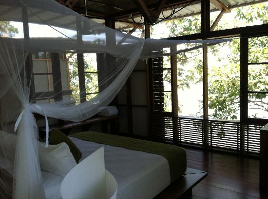 Jicaro Island Ecolodge Granada: NO soul or personality to rooms. Not any aspect of detail or personal touch.