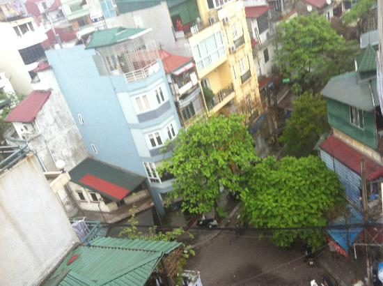 Hanoi Century Hotel: vista dal 6° piano