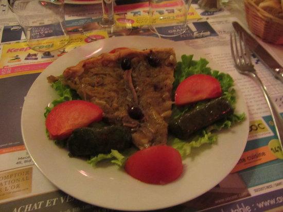 Le Chat Gourmand: Onion &Sardine Appetizer