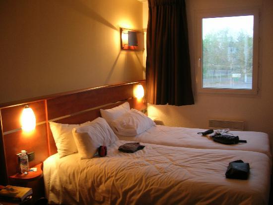 Brit Hotel Blois - Le Préma : camera