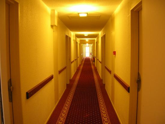 Brit Hotel Blois - Le Préma : corridoio