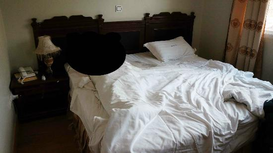 Mc-Ellys Hotel: Our nice, clean room with comfortable beds