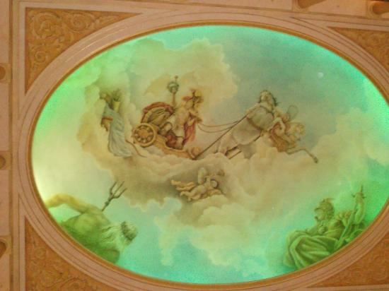 """Hotel """"Colosseo"""" Europa-Park: Ceiling"""