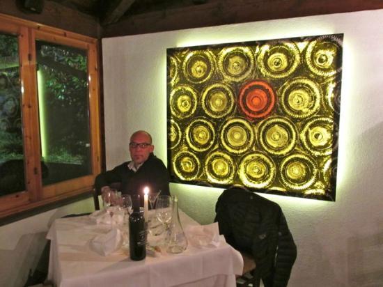 Hotel Abetaia : our corner table