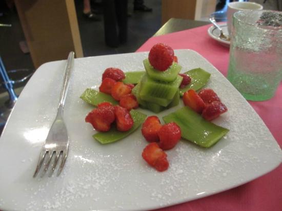 Hotel Abetaia : our breakfast fruit