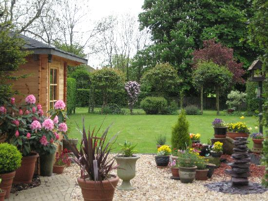Garden at The Old Vicarage