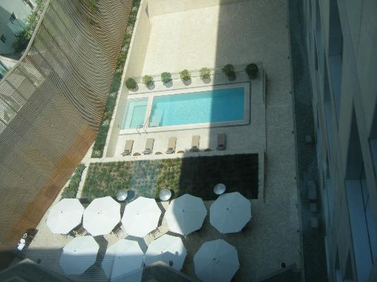 Atton San Isidro : View down from above to pool!