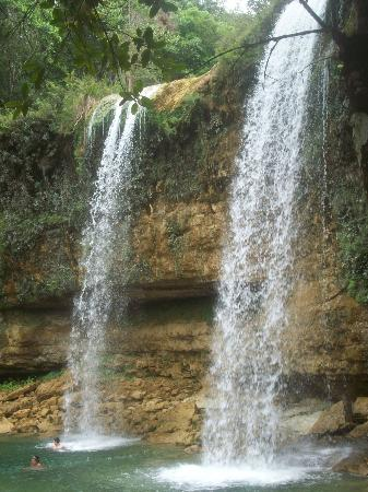 Coral Costa Caribe Resort & Spa: waterfall on our jeep safari