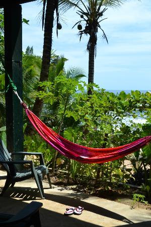 Tesoro Escondido : relax in hammock at Casa Verde patio