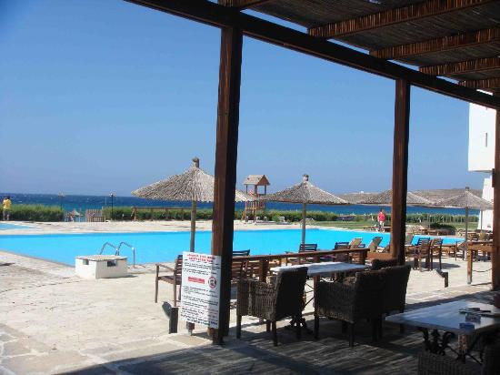 Tinos Beach Hotel: pool