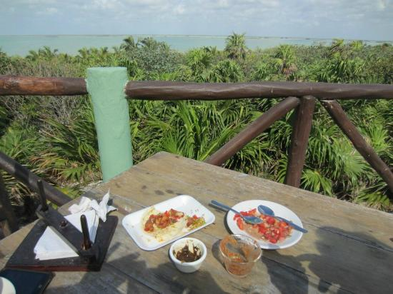 Cesiak Centro Ecologico Sian Ka'an: Restaurant