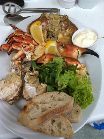 River Exe Cafe: Exmouth Crab