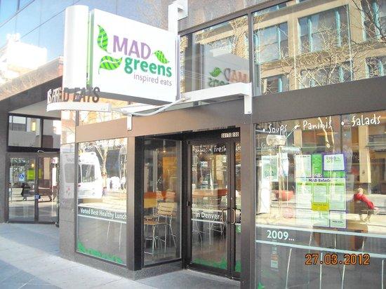Mad Greens: INGRESSO
