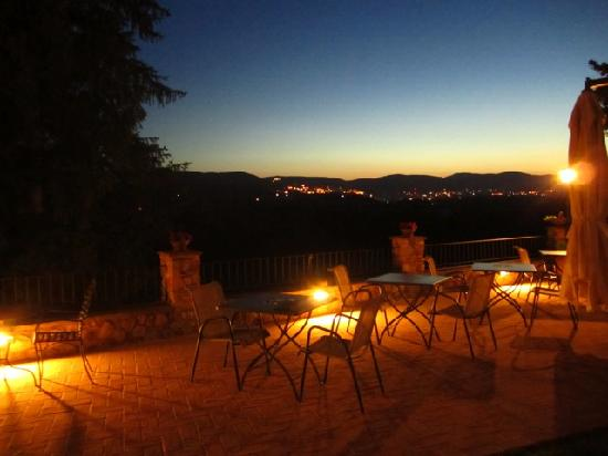 Torre Palombara - Dimora Storica: The view from the terrace