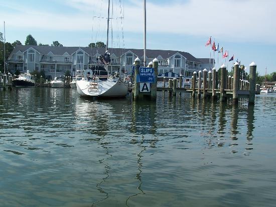 St. Michaels Harbour Inn Marina & Spa: water view