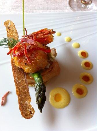 Hotel Restaurant Les Alpes : Main Course