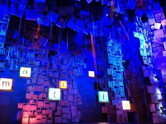 Matilda the Musical: The amazing set